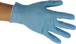 Pack de 100 guantes de nitrilo desechables Dexter para el Coronavirus.
