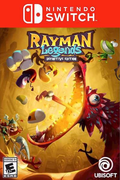 Rayman Legends Definitive Edition [Nintendo Switch]