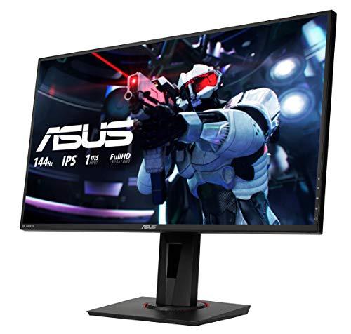 Asus VG279Q - Pantalla 27 pulgadas Full-HD-Gaming HDMI(v1.4), DisplayPort 1.2, Dual-link DVI-D, Full HD LED 1 ms 144 Hz
