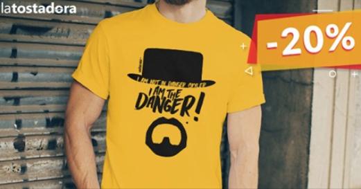 Descuento del 20% en camisetas de temática de Cines