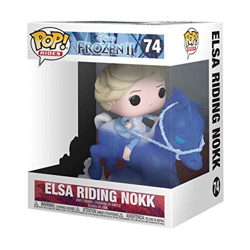 Funko pop frozen 2 Elsa riding nokk