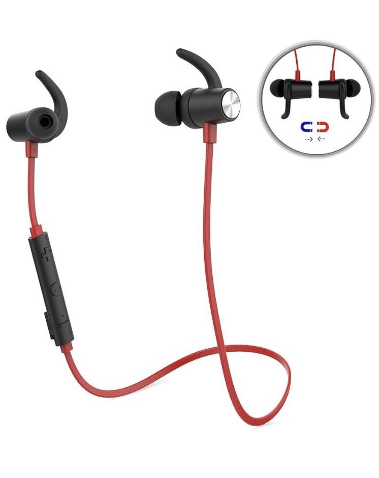 Auriculares deportivos magnéticos