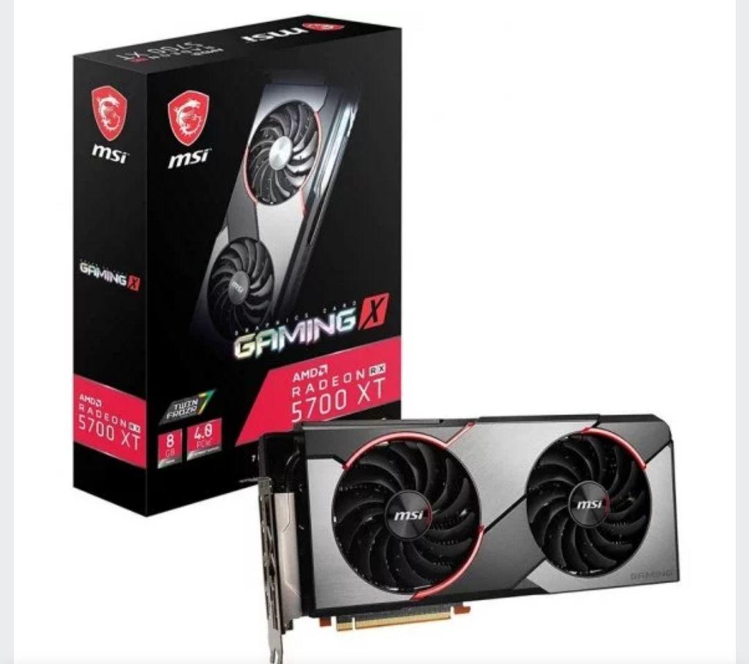 MSI Radeon RX 5700 XT Gaming X 8GB GDDR6+2 juegos+3meses xbox game pass +3meses adobe premire rush+ adobe spark