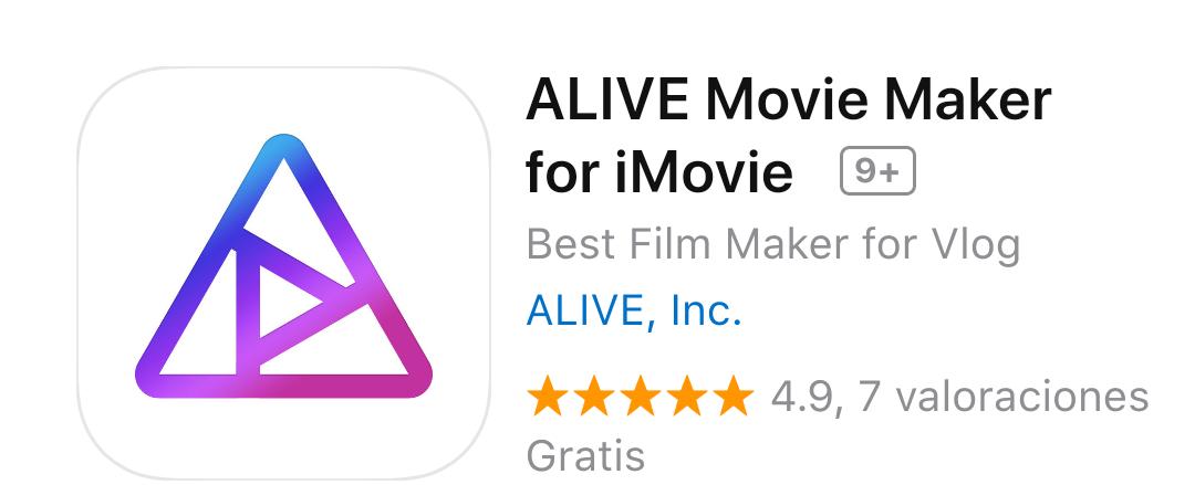 iTunes: ALIVE Movie Maker for iMovie