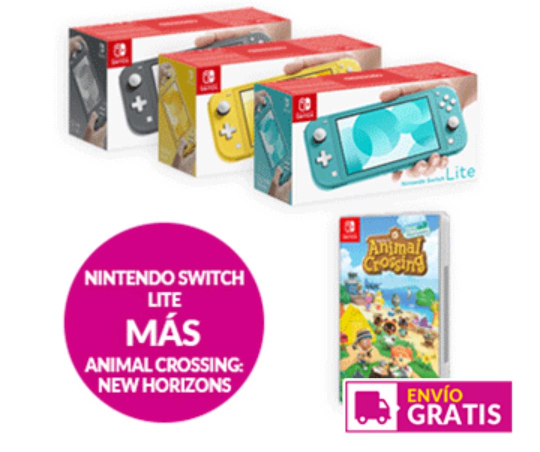 Nintendo Switch Lite + Animal Crossing: New Horizons
