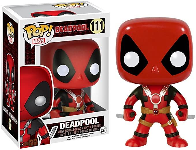Funko POP! Marvel Deadpool Two Swords - Figurina de vinilo