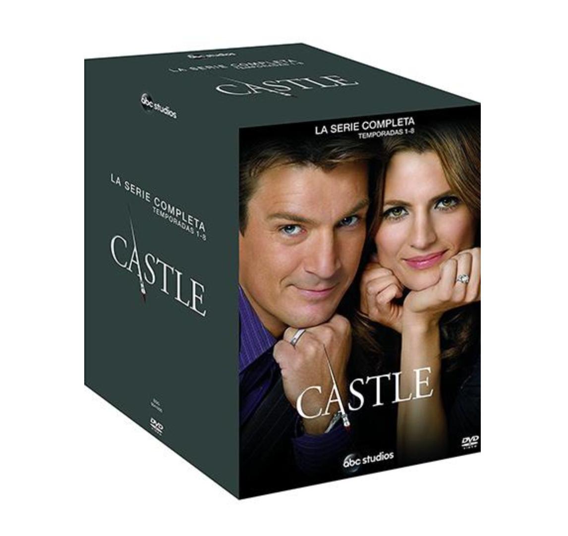 Pack Castle Temporadas 1-8 DVD - Sólo 100 unidades