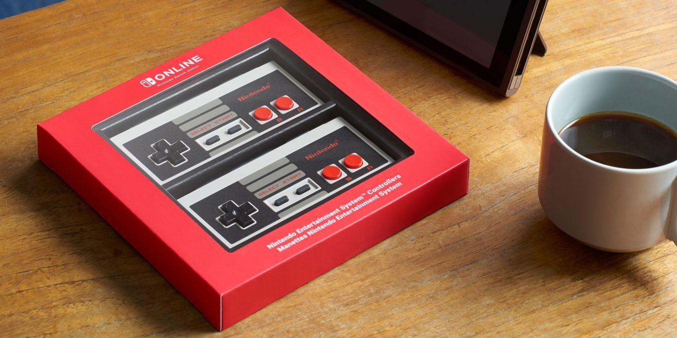 Mandos de Nintendo Entertainment System para usuarios de Nintendo Switch Online