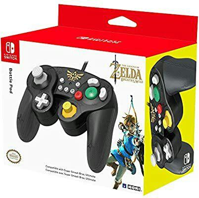 Mando HORI Battle Pad Zelda (Nintendo Switch)
