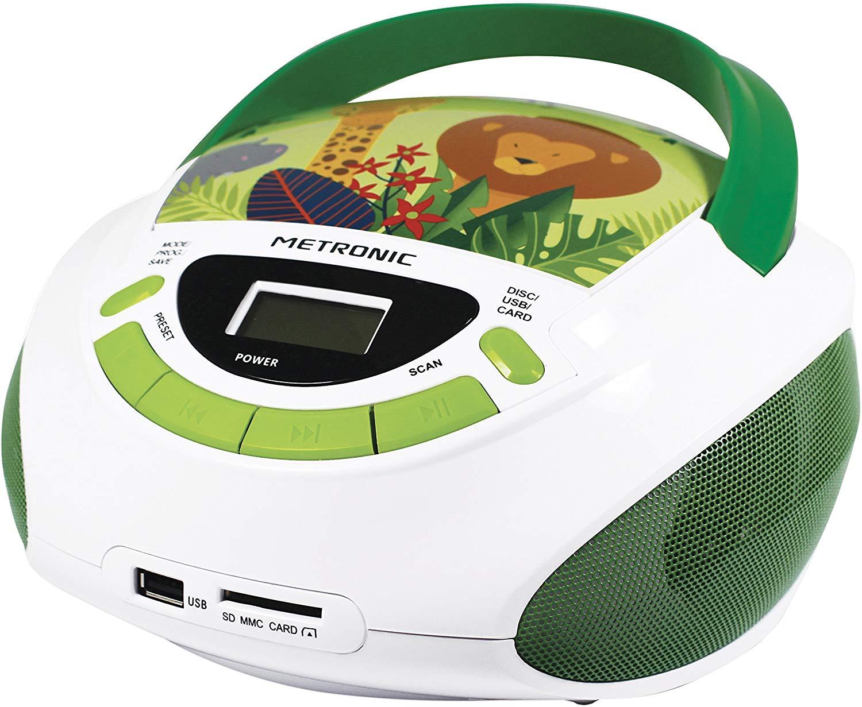 """Radio CD Reproductor MP3, USB, SD/MMC Metronic por sólo 7,57€ (Estado """"Como Nuevo"""")"""