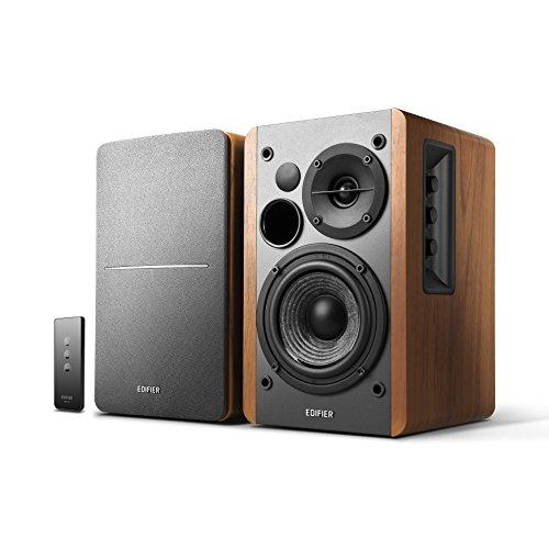Edifier Studio R1280T - Equipo de Altavoces (42 W, RCA, 3.5 mm), Color marrón