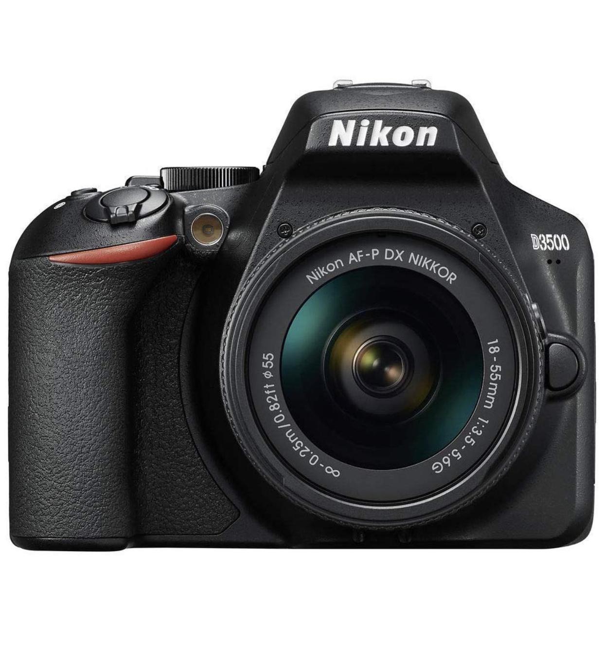 Chollazo Nikon D3500 kit objetivo 18/55mm