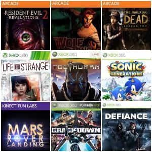 XBOX 360 :: Juegos Gratis Crackdown 1-2, Too human, Life Is Strange y otros