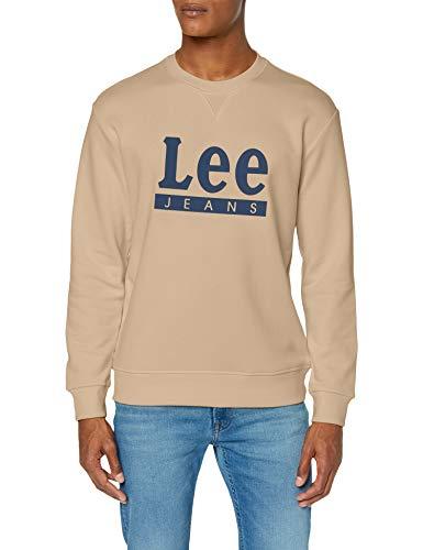 Lee Basic Graphic Crew Sudadera para Hombre talla S.