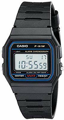 Casio f91W Digital Reloj de Pulsera.