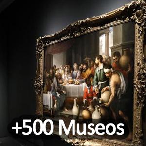 +2500 Museos y galerías desde tu sofá