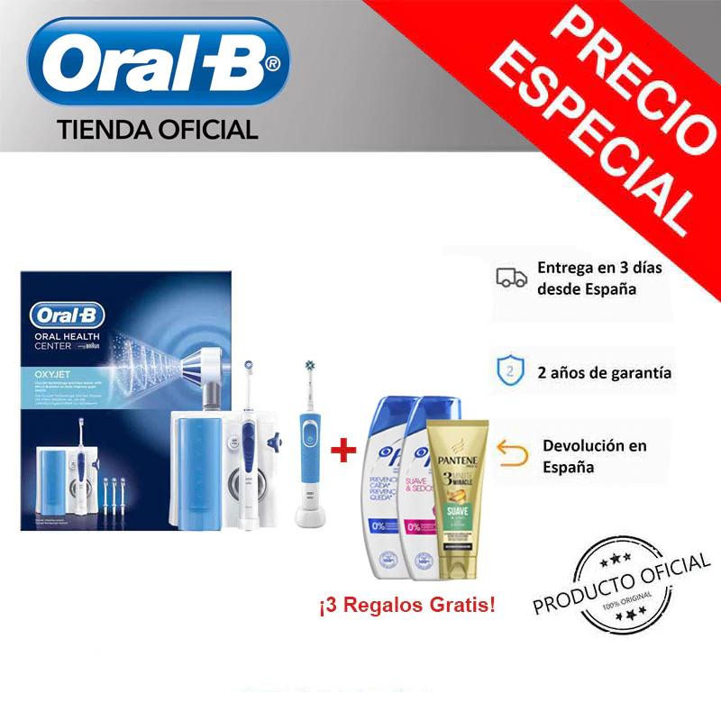Irrigador Oral B MD20 Oxyjet y Vitality 100 + Champoo gratis - España