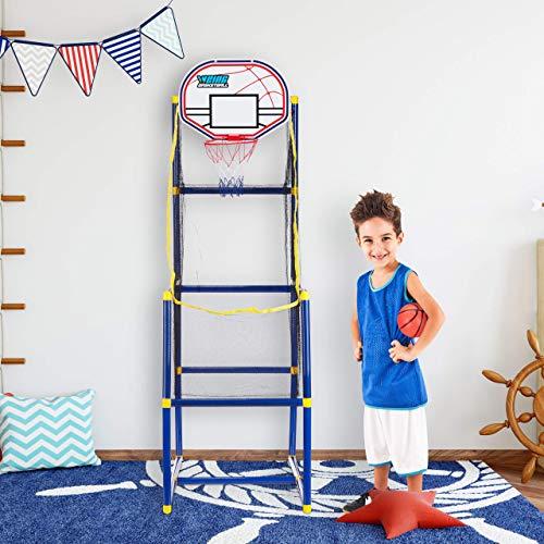 Canasta de baloncesto infantil para interior