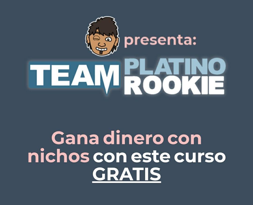 Curso de nichos de AdSense gratis por Chuiso en Team Platino