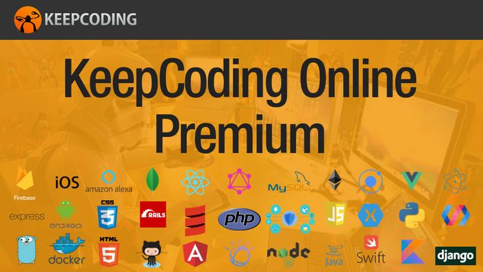 KeepCoding Online Premium - GRATIS