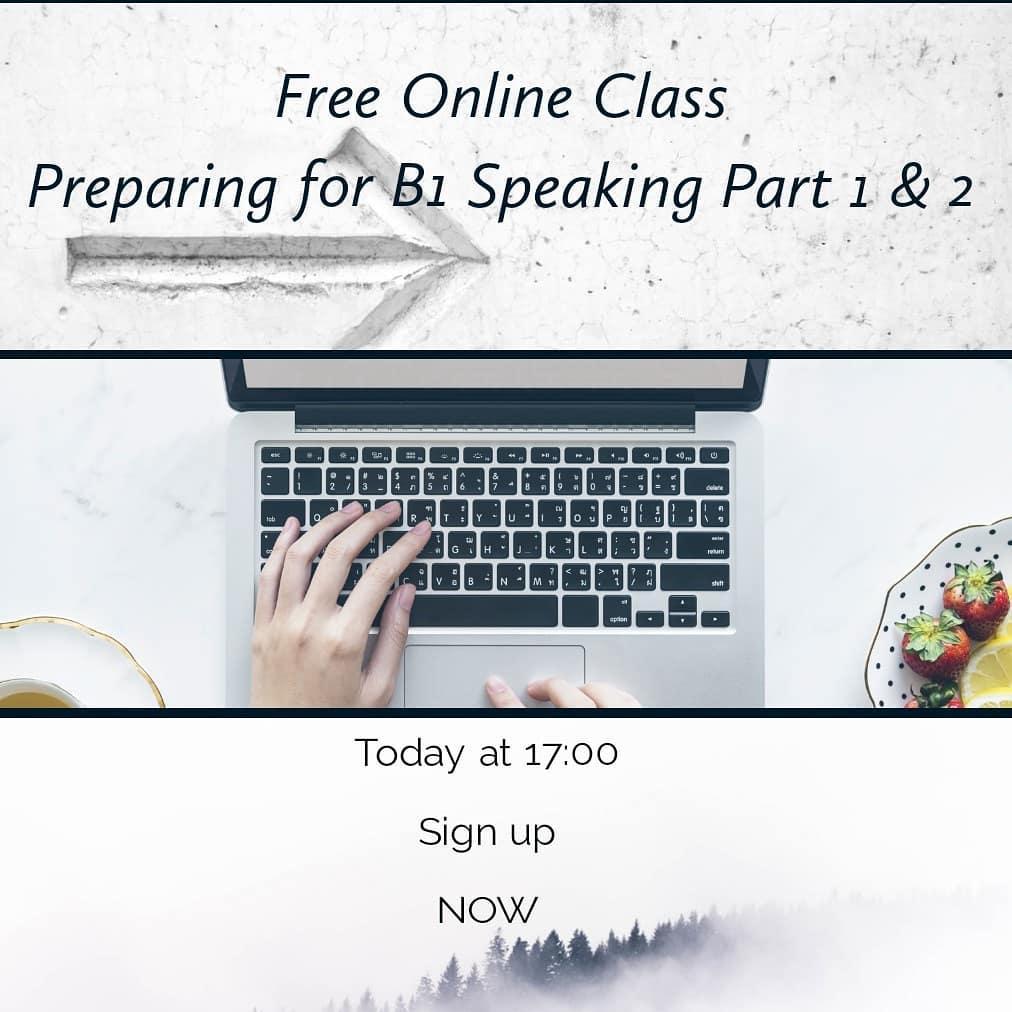 Preparación Speaking B1