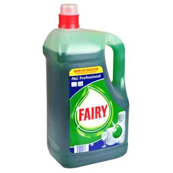 Fairy ultra 5l para lavar a mano la vajilla