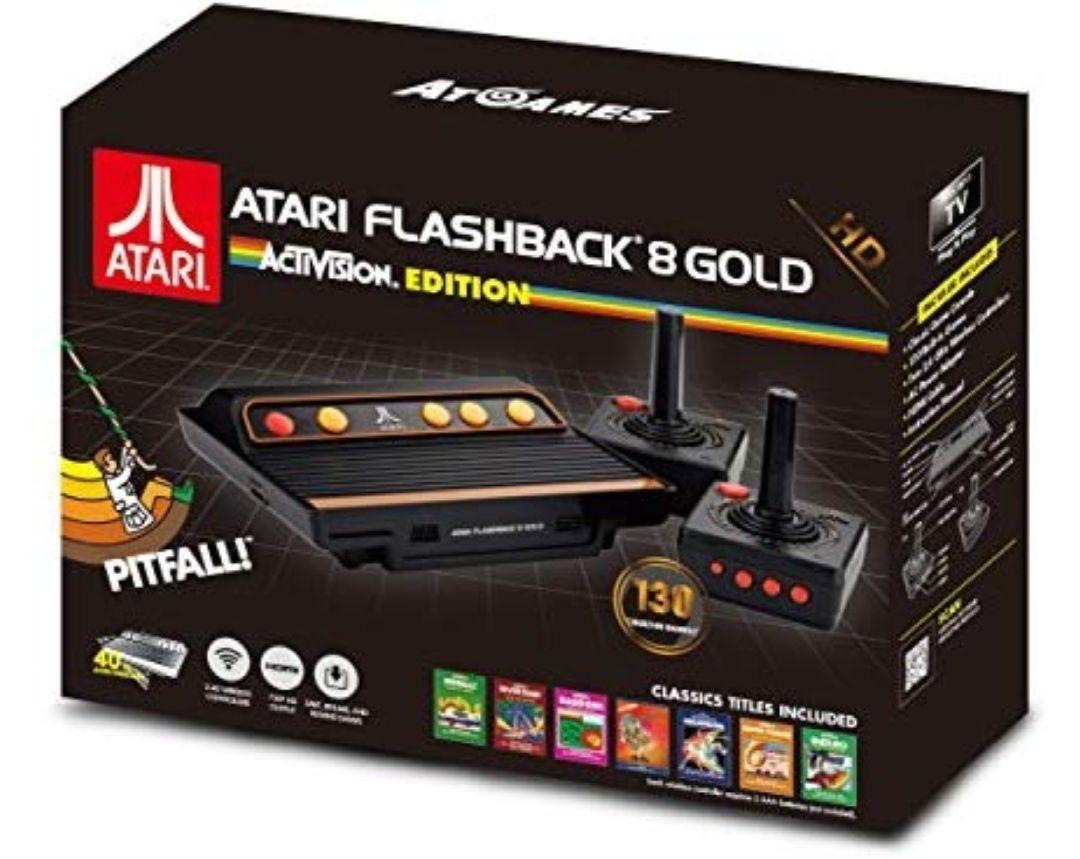 Consola Atari Flashback 8 HD, Edición Activision (130 Juegos)