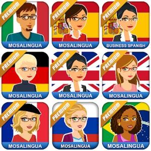 MosaLingua :: Regala todas sus Apps (Android, IOS)
