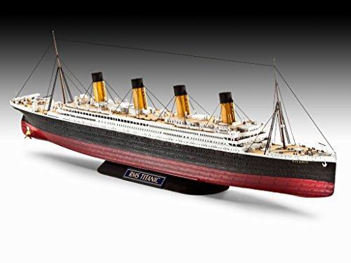 Maqueta R.M.S. Titanic, Kit Modello, Escala 1:700