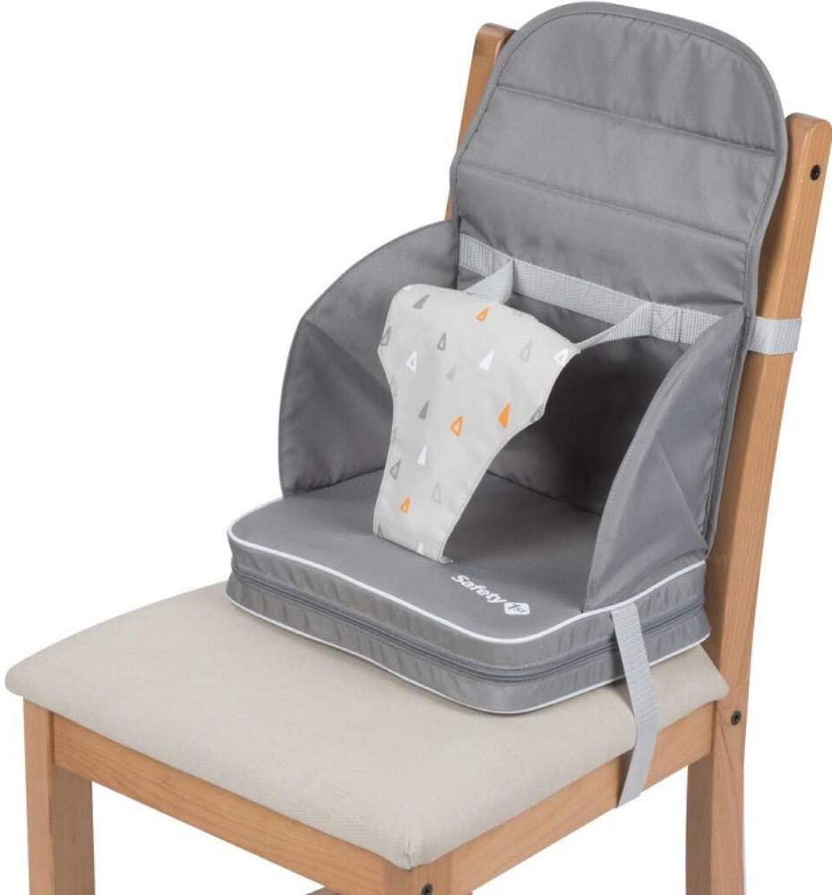 Safety 1st Travel Booster, Trona portatil de viaje o Silla elevada para bebés, 6 a 36 meses (<15 kg