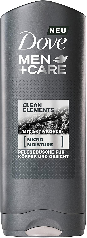 6 unidades de Domestos Dove Men + Care Gel Clean Elements 250 ml, (6 x 250 ml)