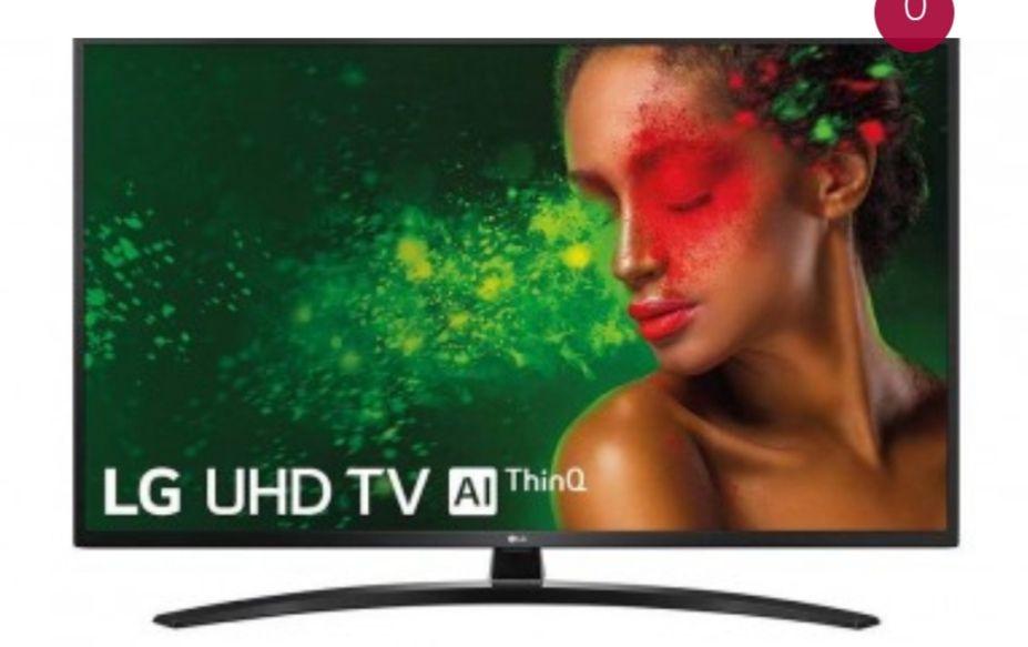 "LG Ultra HD TV 4K, 108cm/43"" con Inteligencia Artificial - 43UM7400PLB"