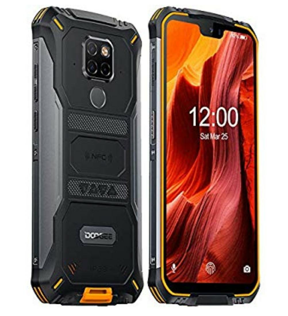 Doogee S68 Smartphone impermeable, a prueba de golpes Helio P70 Octa Core 6GB + 128B, IP68 Android 9.0, 6300mAh, Cámara 21MP+16MP