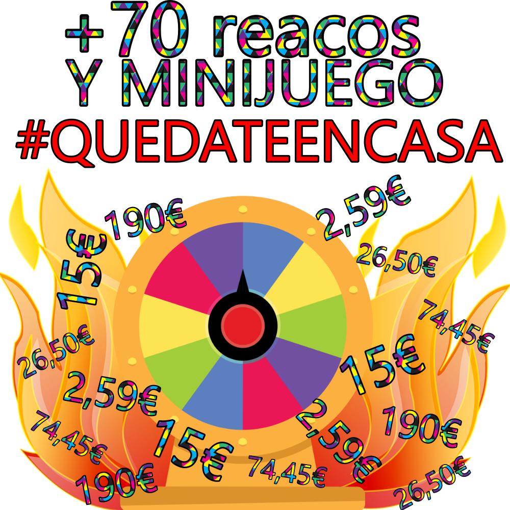 REACO-PILACIÓN #QUEDATEENCASA - +70 Productos con DESCUENTAZO + MINIJUEGO AmazonWarehouse MB/CN