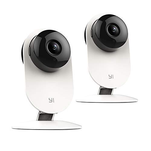 YI Cámara Vigilancia IP Interior 720P 2 Packs