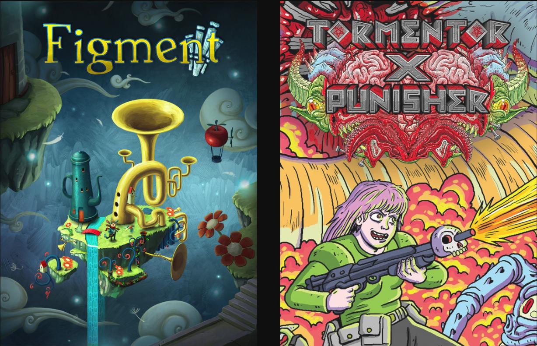 Juego de Epic Games: Figment y Tormentor x Punisher