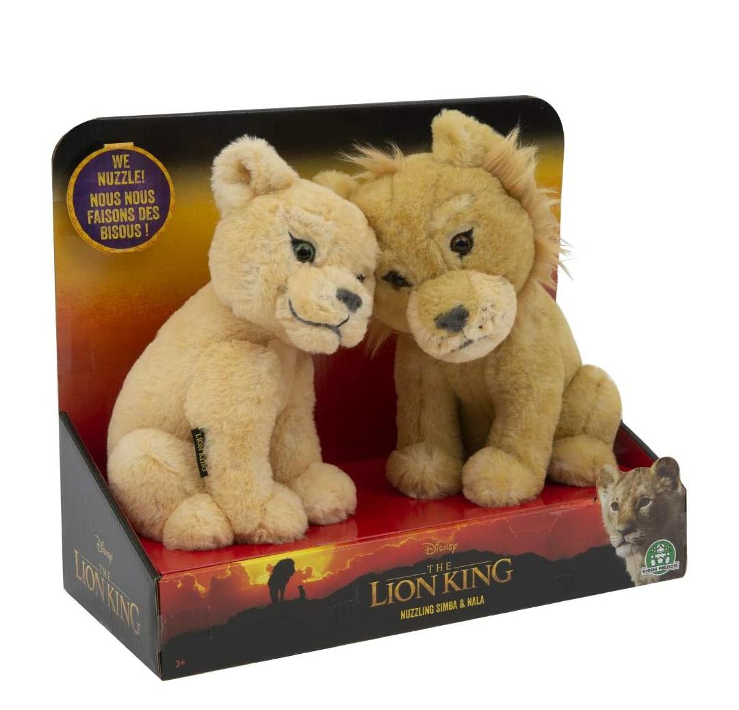 Peluche Simba y Nala del Rey León