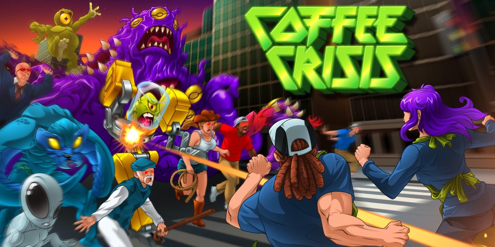 Coffee Crisis para Switch a 1,99€ en Nintendo eShop España