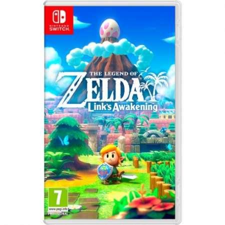 Nintendo Switch The Legend of Zelda: Link's Awakening + 2 años de garantía