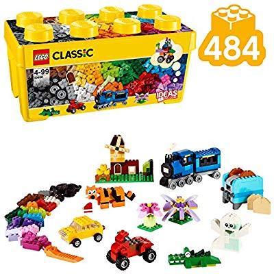 LEGO Classic - Caja de Ladrillos Creativa Mediana, Juguete de Construcción (10696)
