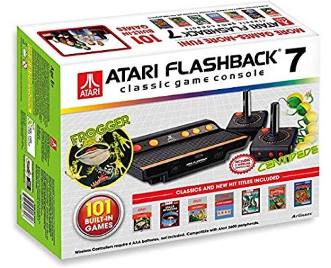 Consola Retro Atari Flashback 7 (Incluye 101 Juegos)