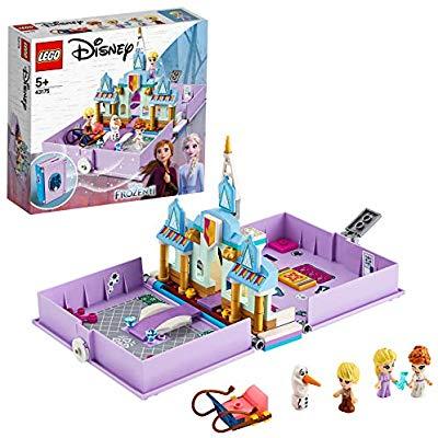 Lego - Cuentos e Historias: Anna y Elsa, Juguete de Frozen 2,