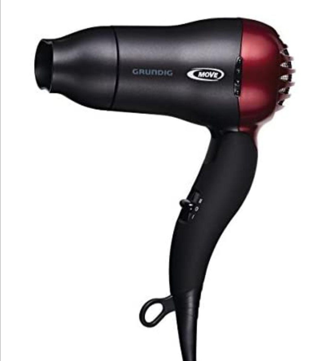 Grundig HD 2509 R - Secador de pelo de viaje 1500W