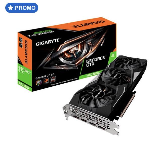 Gigabyte GeForce GTX 1660 Super Gaming OC 6GB – Gráfica