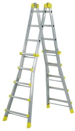 Escalera telescópica aluminio Maurer 5 + 5