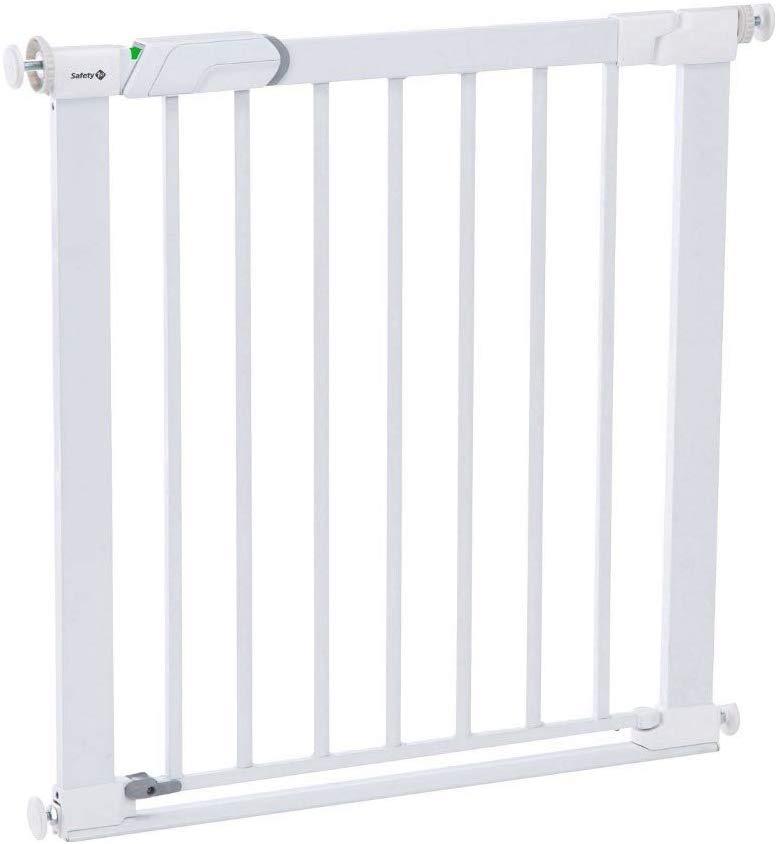 Safety 1st Easy Close Metal - Barrera de seguridad metálica para puertas para bebé