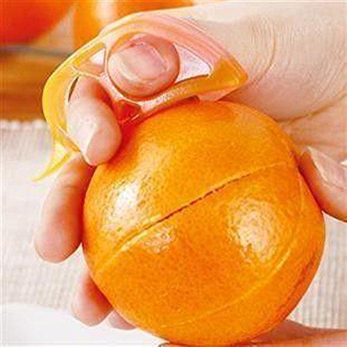 Cortador de la piel de la naranja.