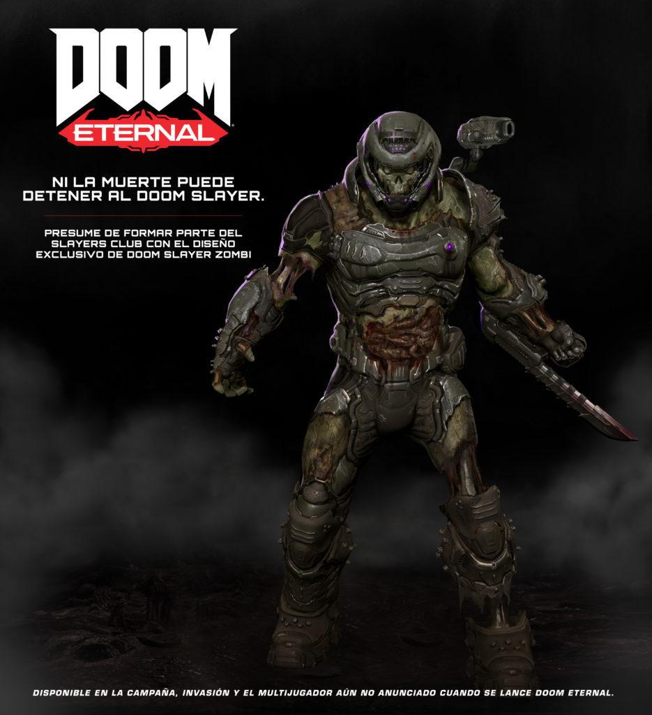 DOOM SLAYERS CLUB :: Gratis skin de zombi de DOOM Slayer por registrate
