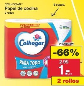 2 Maxirrollos Colhogar (Papel de cocina) en Lidl