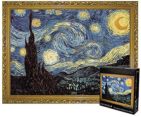 Puzzle 3000 piezas noche estrellada de Van Gogh medida 115*82cm